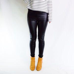 3/$25 Leather Look Leggings